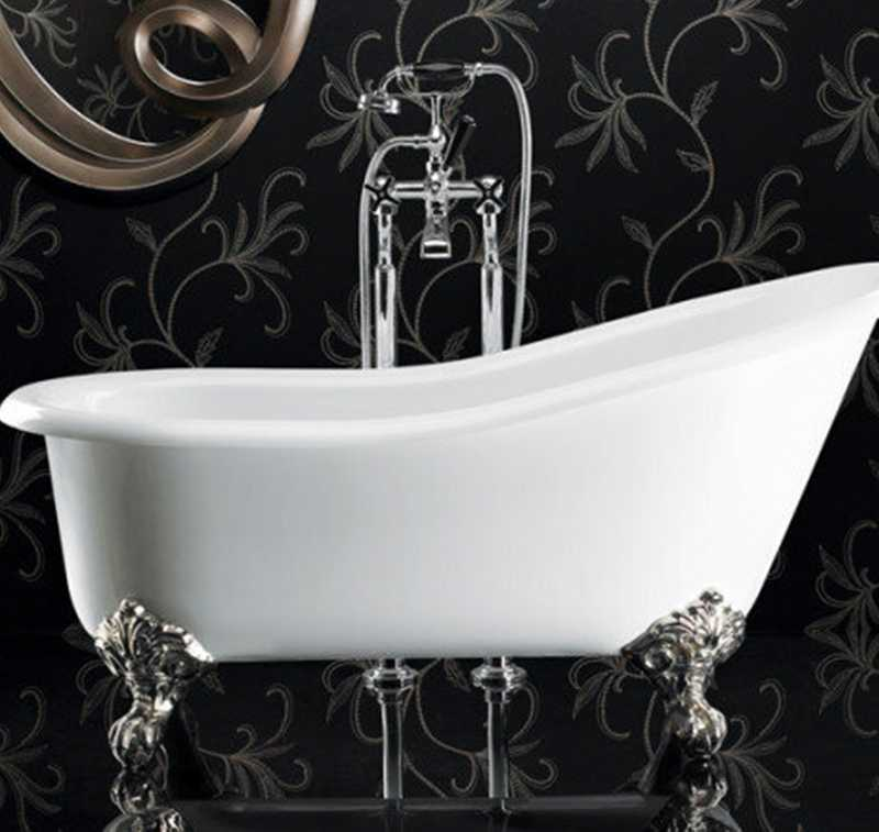 Ashton & Bentley bath feet chrome