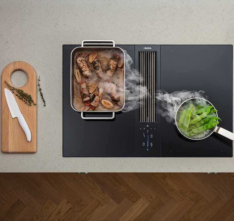 Bora with Induction hob